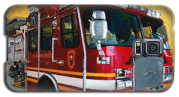 Solon Fire Engine Galaxy S5 Case