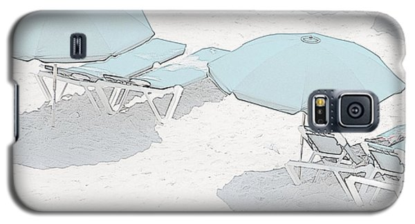 Galaxy S5 Case featuring the photograph Some Beach        Somewhere by Susan  McMenamin
