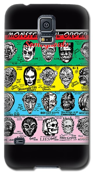 Galaxy S5 Case featuring the digital art Some Ghouls by Sasha Alexandre Keen