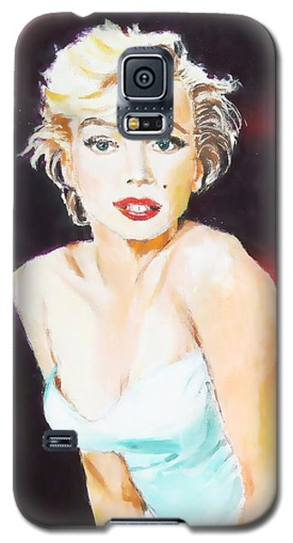 Galaxy S5 Case featuring the painting Some Like It Red Hot by Judy Kay