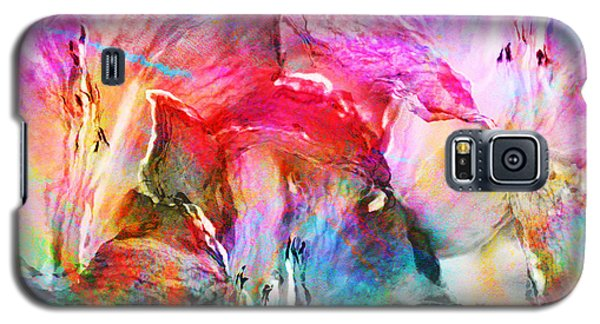 Somebody's Smiling - Abstract Art Galaxy S5 Case
