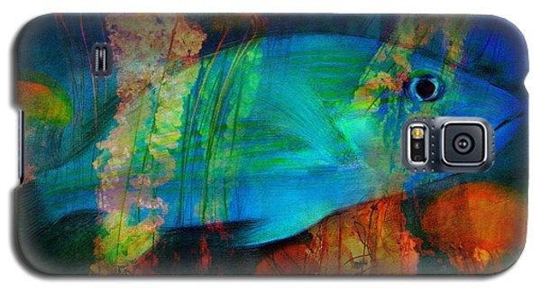Something Fishy Galaxy S5 Case by Erika Weber