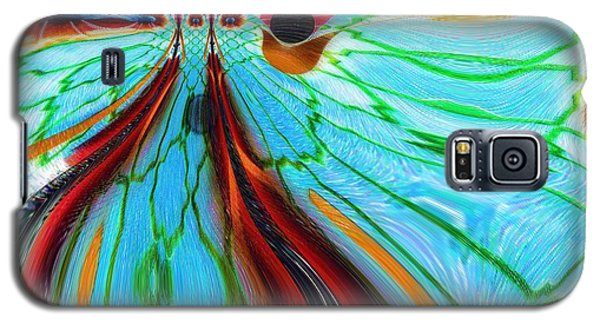 Something Is Watching Me Galaxy S5 Case by Alec Drake