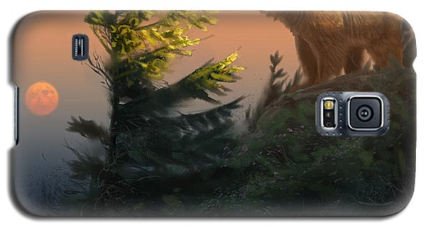 Something On The Air - Grizzly Galaxy S5 Case by Aaron Blaise