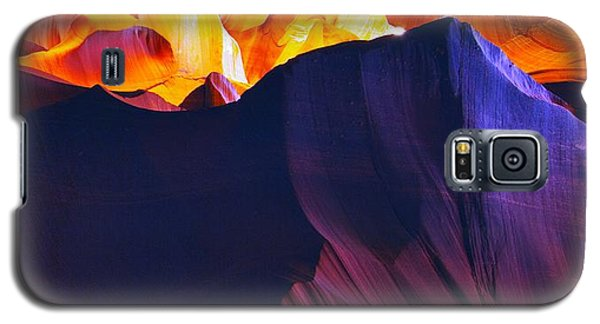Galaxy S5 Case featuring the photograph Somewhere In America Series - Antelope Canyon by Lilia D
