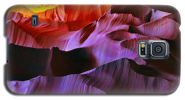 Galaxy S5 Case featuring the photograph Somewhere In America Series - Transition Of The Colors In Antelope Canyon by Lilia D