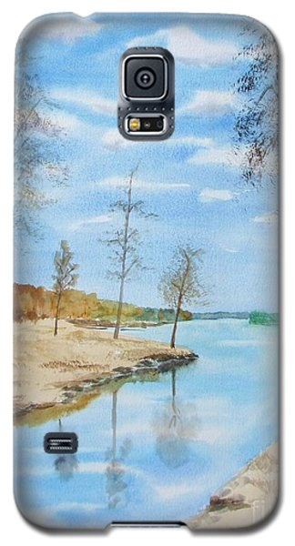 Galaxy S5 Case featuring the painting Somewhere In Dalarna by Martin Howard