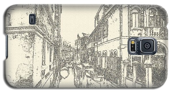 Galaxy S5 Case featuring the photograph Somewhere In Venice by Yury Bashkin
