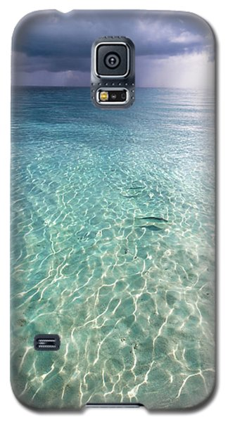 Somewhere Is Rainy. Maldives Galaxy S5 Case by Jenny Rainbow