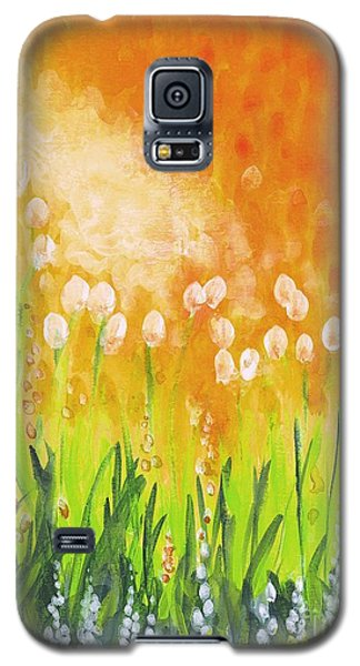 Galaxy S5 Case featuring the painting Sonbreak by Holly Carmichael