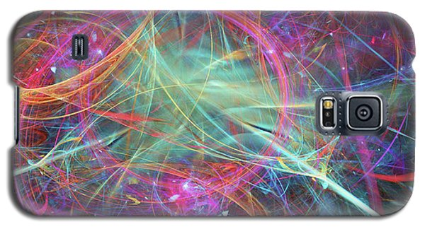 Galaxy S5 Case featuring the digital art Sonogram Of The Soul by Margie Chapman