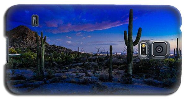 Sonoran Desert Saguaro Cactus Galaxy S5 Case
