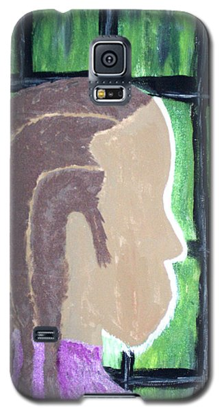 Abstract Man Art Painting  Galaxy S5 Case