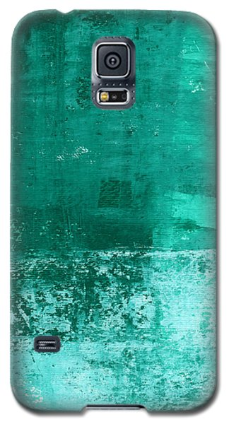 Soothing Sea - Abstract Painting Galaxy S5 Case by Linda Woods