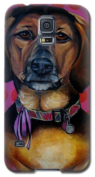 Sophia - My Rescue Dog  Galaxy S5 Case