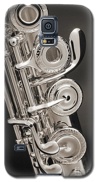 Soprano Flute Music Instruments Photo In Sepia  3441.01 Galaxy S5 Case