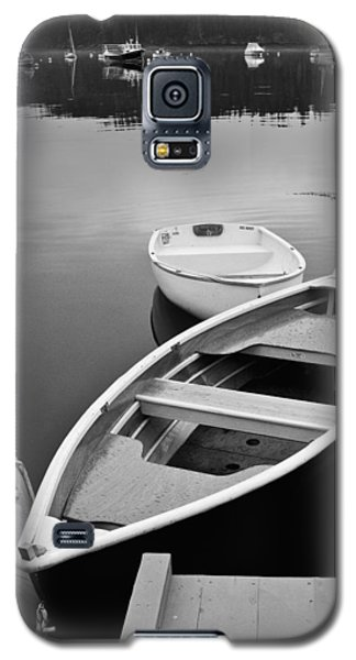 Sorrento Harbor Boats Galaxy S5 Case by Bill Barber