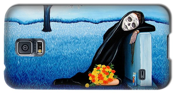 Sorrow And Hope Galaxy S5 Case by Evangelina Portillo