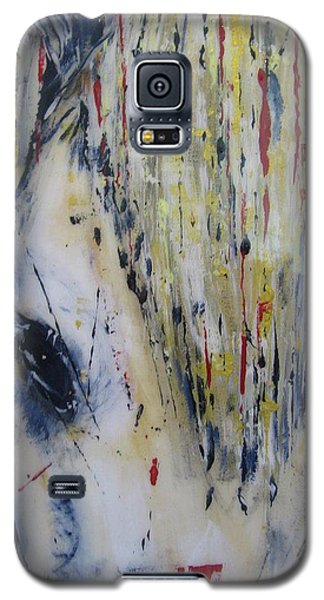 Galaxy S5 Case featuring the painting Soul Mare by Lucy Matta