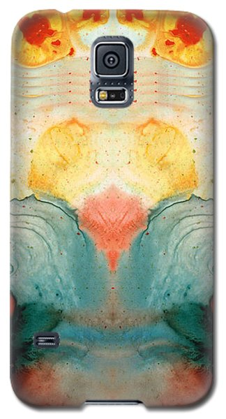 Soul Star - Abstract Art By Sharon Cummings Galaxy S5 Case by Sharon Cummings