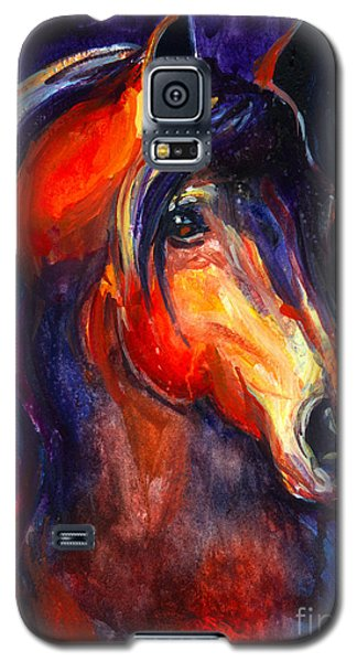 Soulful Horse Painting Galaxy S5 Case