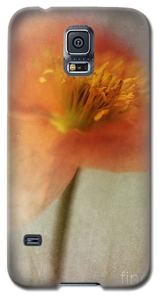 Portraits Galaxy S5 Case - Soulful Poppy by Priska Wettstein