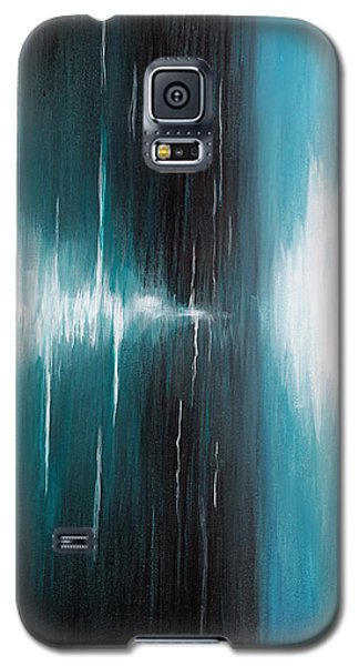 Galaxy S5 Case featuring the painting Hear The Sound by Michelle Joseph-Long