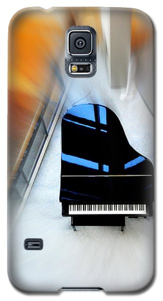 Galaxy S5 Case featuring the photograph Sound Waves by Mary Beth Landis