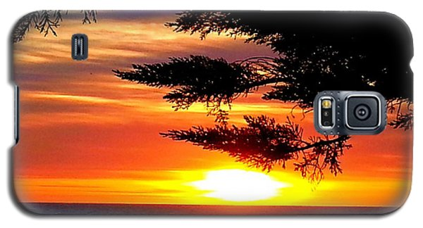 South Bay Sunset Galaxy S5 Case