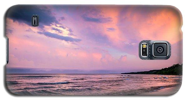 South Beach Clouds Galaxy S5 Case