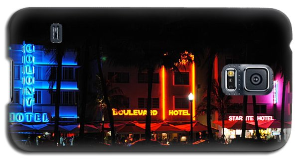 South Beach Hotels Galaxy S5 Case