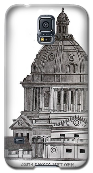 South Dakota State Capitol Galaxy S5 Case