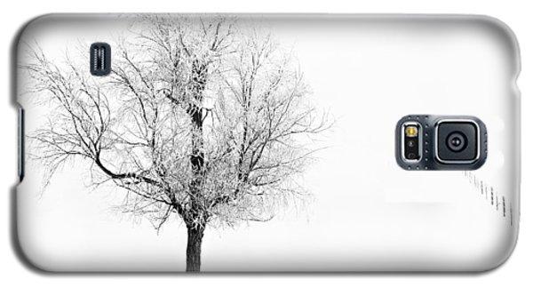 South Dakota Winter Galaxy S5 Case