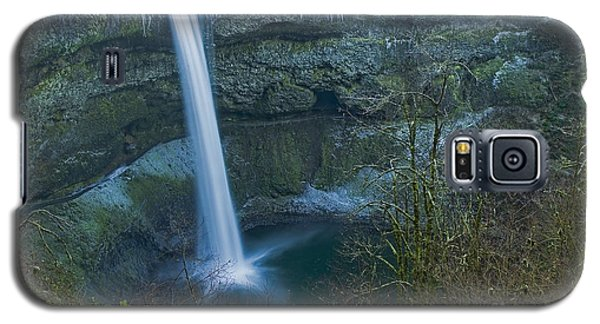 Galaxy S5 Case featuring the photograph South Falls Winterscape by Nick  Boren