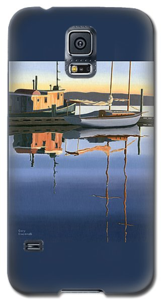 South Harbour Reflections Galaxy S5 Case by Gary Giacomelli