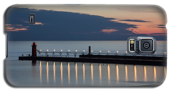 South Haven Michigan Lighthouse Galaxy S5 Case by Adam Romanowicz