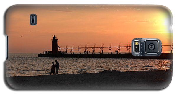 South Haven Sunset Galaxy S5 Case by Bill Woodstock