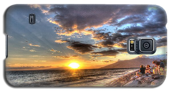 South Kihei Sunset Galaxy S5 Case