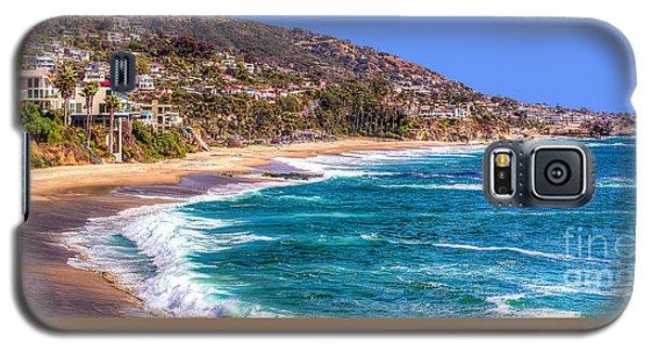 South Laguna Beach Coast Galaxy S5 Case by Jim Carrell