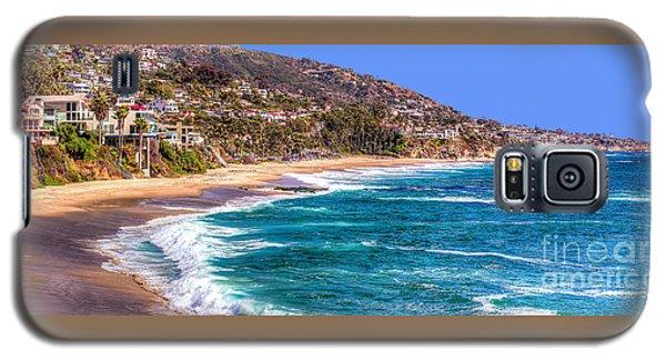 Galaxy S5 Case featuring the photograph South Laguna Beach Coast by Jim Carrell