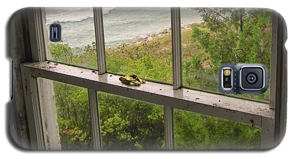 South Manitou Island Lighthouse Window Galaxy S5 Case