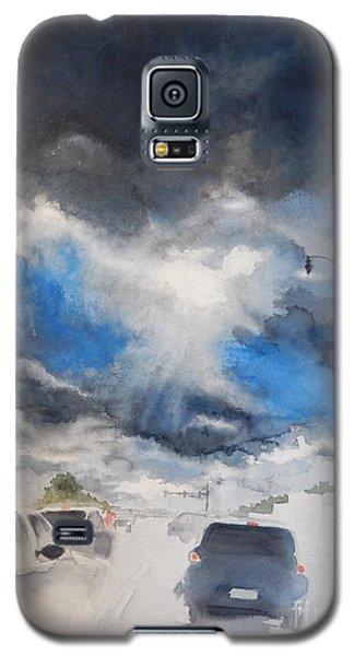 South Maple Road   Ann Arbor Michigan Galaxy S5 Case by Yoshiko Mishina
