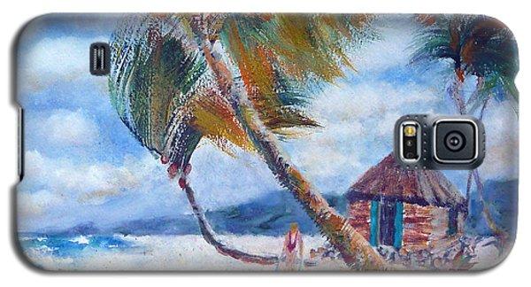 South Pacific Hut Galaxy S5 Case