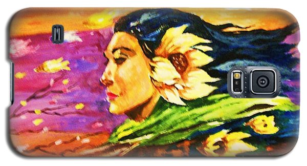 South Sea Breeze  Fleeting Blossoms Galaxy S5 Case by Al Brown