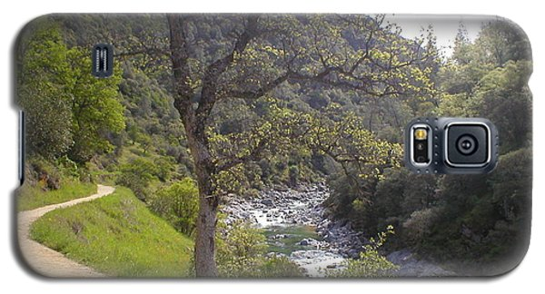 South Yuba Trail Galaxy S5 Case by Rachel Lowry