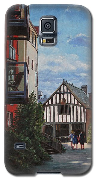Southampton Medieval Merchant House From High St Galaxy S5 Case