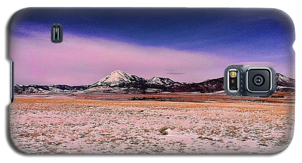 Galaxy S5 Case featuring the photograph Southern Colorado Mountains by Ron Roberts