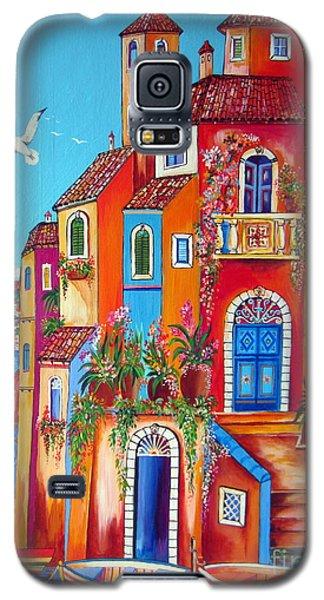 Southern Italy Amalfi Coast Village Galaxy S5 Case