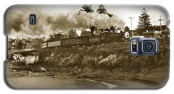 Southern Pacific Del Monte Passenger Train Pacific Grove Circa 1954 Galaxy S5 Case