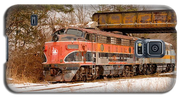 Southern Railroad Of New Jersey Locomotive Galaxy S5 Case